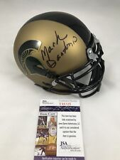 MARK DANTONIO Signed Autographed Michigan State Spartans Mini Helmet JSA COA 2