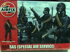 AIRFIX 1/32 SAS SET OF 14 FIGURES