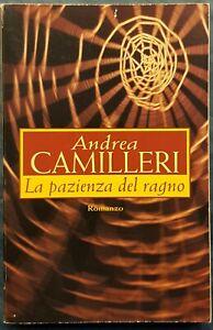 LIBRO-LA PAZIENZA DEL RAGNO-ANDREA CAMILLERI-ED.MONDOLIBRI-2005