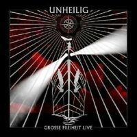 "UNHEILIG ""GROSSE FREIHEIT LIVE"" 2 DVD NEW+"
