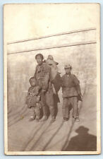 Antique 1913 Real Photo RPPC Postcard PEKING CHINA Chinese US MARINES LEGATION