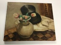 Antique Oil/Canvas Dated 1926 French Artist Gerard-Paul Cochet
