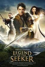 LEGEND OF THE SEEKER (TV) Movie POSTER 27x40 Craig Horner Bridget Regan Bruce