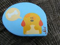 NUOVO Sevi 82348 magnete cane in legno