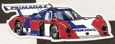 PRIMAGAZ COUGAR C12 PORSCHE 1985 LE MANS 24 ORIGINAL PERIOD STICKER AUTOCOLLANT