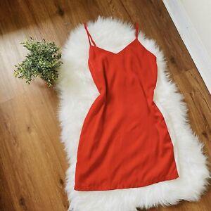 Forever 21 Red Varsity Mini Dress Small