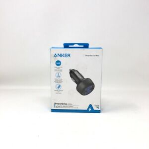 Anker - PowerDrive 2 Elite Vehicle Charger - Black A222OH11-1 GA