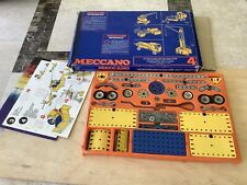 Meccano No 4 Set,Calais France. 1972.In nice condition with manuals..