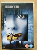 The Silence of the Lambs DVD 1990 Hannibal Cannibal 2-Disc Definitive Edition