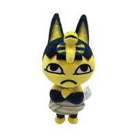 "Nintendo Switch Animal Crossing New Horizons Ankha Plush Doll Toy Kids Gift 8"""