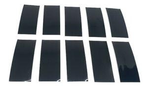 10 Stück Schrumpfschlauch Schwarz Skin Wrap Protect für 18650 Akku Batterie