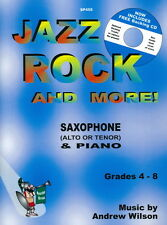 Wilson: Jazz, Rock and More! Sax Eb/Bb & Piano + FREE CD SP455