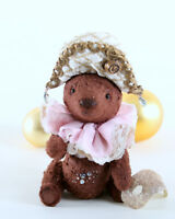Artist Handmade Teddy bear Giovanni. Stuffed Bear. OOAK art doll