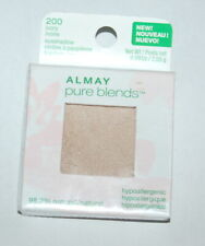 NEW Almay Pure Blends Single Eye Shadow (Eyeshadow) - IVORY 200 - Hypoallergenic