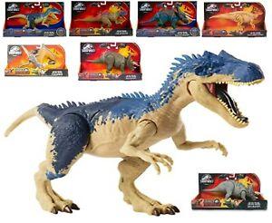 Jurassic World Dual Attack Ages 4+ Toy Dinosaur Fight Dino Play Strike Chomp Fun