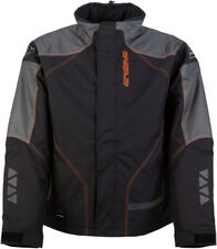Arctiva Snow Snowmobile Pivot 2 Insulated Waterproof Jacket (Black/Orange)