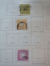 13x Timbres Stamps WURTEMBERG WURTTEMBERG 1851-1875 Used