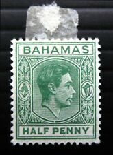 More details for bahamas 1938 g.vi - ½d showing distorted