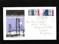 Great Britain Elizabeth Ii Forth Road Bridge South Queensferry Cancel Cover 7y