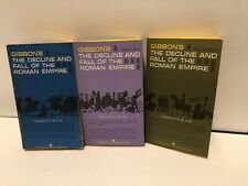 1968 3 Volume Gibbon's Decline and Fall of the Roman Empire Deluxe Boxed Edition