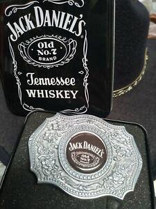 Fibbia cintura buckle metallo Jack Daniel's western cowboy or biker