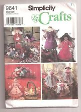 Simplicity ANGEL TREE TOPPER CHRISTMAS Pattern 9641
