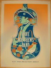 Dave Matthews Band Poster 2012 Nikon Wantagh Jones Beach NY N1 S/N #/750