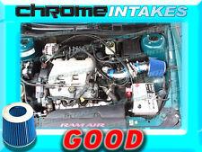 BLUE 97-05 PONTIAC GRAND AM/ALERO/MALIBU 3.1 3.1L/3.4 3.4L V6 AIR INTAKE TB