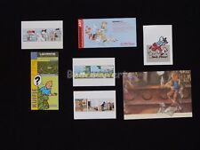 LOT HERGE ESTEVE FORT TINTIN Bar Cartes Hommage (341)