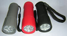 BRIGHT 6 LED FLASHLIGHT,  Torch,  Lantern  w/ BATTERIES