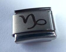 CAPRICORN Italian Charm Zodiac Horoscope Sign fits 9mm Classic Starter Bracelets