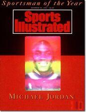 December 23, 1991 Michael Jordan Chicago Bulls Sports Illustrated NO LABEL
