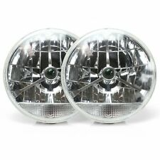 Tri-Bar 7 Inch Lens Assembly with Clear Turn Signal Pair