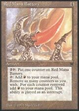 MTG magic cards 1x x1 Light Play, English Red Mana Battery Legends