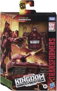 Transformers War for Cybertron Kingdom Warpath Deluxe Class WFC-K6