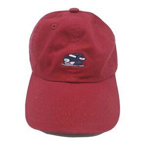 Vineyard Vines Ski Whale Hat Baseball Cap Adjustable Red Kids