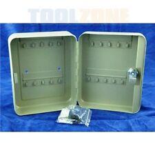 Toolzone 20 GANCI MONTATO A PARETE IN ACCIAIO ufficio Armadietto Blocco tasti-Chiave Armadietto HW139