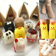 Ladies Women Girls Boys Animal Soft Fluffy Socks Leg Warmer‏ Slipper‏ Socks ❆