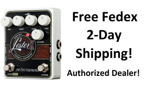 New Electro-Harmonix EHX Lester K Stereo Rotary Speaker Guitar Effects Pedal