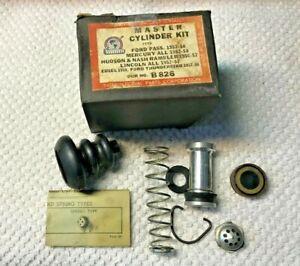 MASTER CYLINDER KIT FORD MERCURY LINCOLN HUDSON NASH RAMBLER EDSEL 1952 1958 NOS
