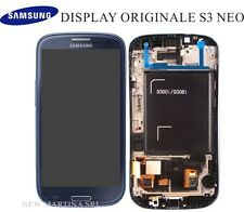 LCD SAMSUNG Galaxy S3 NEO i9301 / i9308 TOUCHSCREEN + DISPLAY orig.BLU no i9300