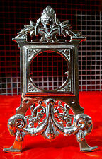 c1880 Antique Victorian Gothic Brass Pocket Watch Stand Holder   Rd 183660