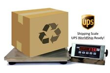 """500 LB X 0.1 LB - 14""""X 16"""" - SHIPPING/POSTAL SCALE WITH UPS WORLDSHIP"""