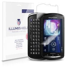 iLLumiShield Anti-Bubble/Print Screen Protector 3x for Sony Ericsson Xperia Pro
