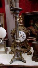 ancien chandelier d eglise pique cierge en bronze epoque XIXE bougeoir gothique