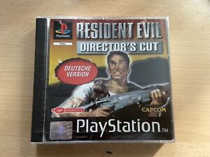 Resident Evil - Director's Cut (Sony PlayStation 1 / Ps1 , 1997)