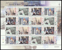 China Macau 2018 60th Ann of the Publication of Macao Daily New full sheet