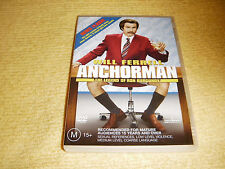 ANCHORMAN The Legend Of Ron Burgundy comedy 2004 DVD Will Ferrell R4