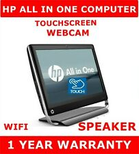 HP TouchSmart All in One Computer PC Touchscreen 256gb ssd Dell Mice Webcam 16GB