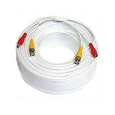 Am New 1pc 100ft Bnc Video Power Premade Cable for 5Km Cctv Security Camera Dvr